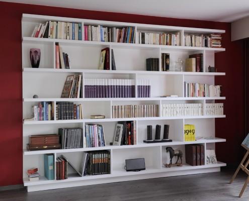Bibliothèque sur mesure Hom'in