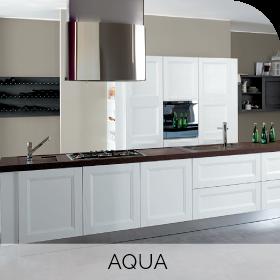 Cuisine sur mesure Aqua à retrouver chez Hom'In