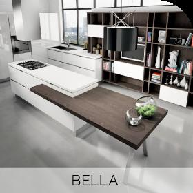 Cuisine sur mesure Bella à retrouver chez Hom'In