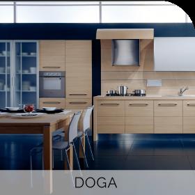 Cuisine sur mesure Doga à retrouver chez Hom'In
