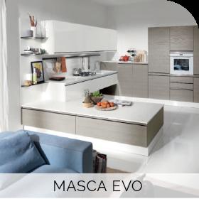 Cuisine sur mesure Masca Evo à retrouver chez Hom'In