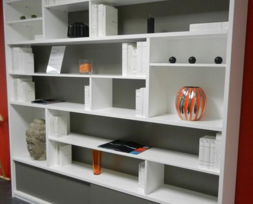biblioth que sur mesure orl ans paris hom in. Black Bedroom Furniture Sets. Home Design Ideas