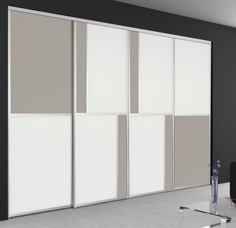 Dressing sur mesure nos types de portes hom in for Porte miroir coulissante sur mesure