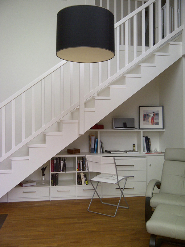 Beautiful amenagement entree avec escalier contemporary for Escalier entree deco