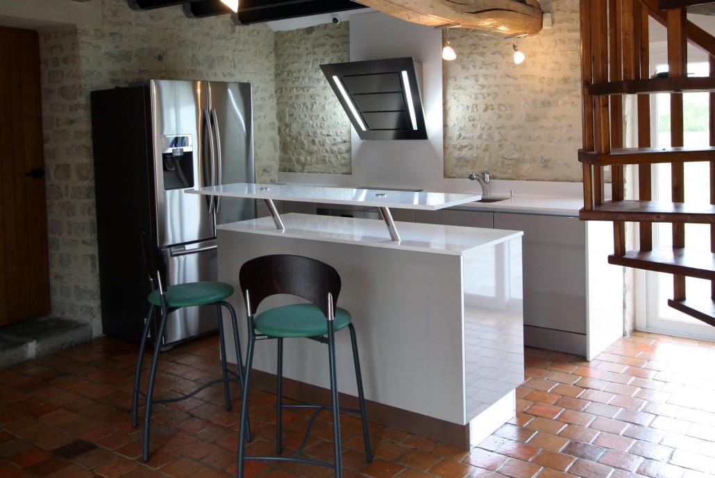 stratifi gris best plan de travail bois gris avec stratifi inox leroy merlin et stratifie effet. Black Bedroom Furniture Sets. Home Design Ideas